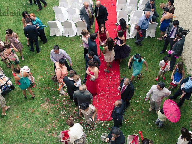 La boda de Toni y Eva en Leiro (Capital), Orense 21