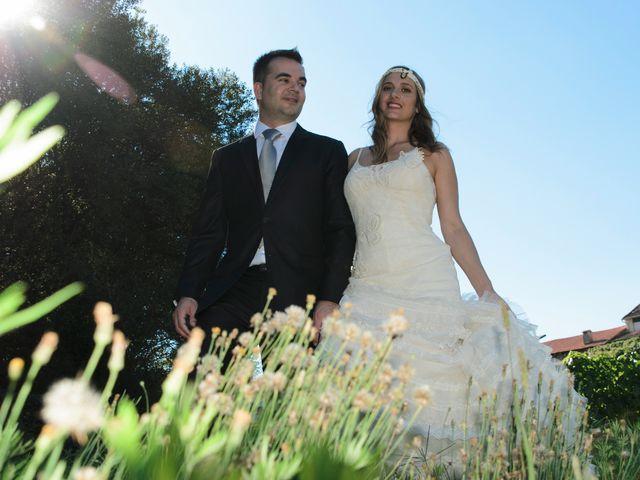 La boda de Toni y Eva en Leiro (Capital), Orense 42
