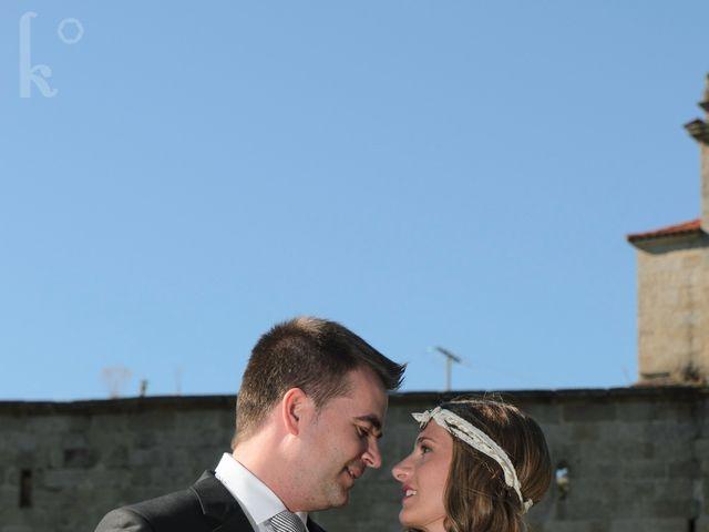La boda de Toni y Eva en Leiro (Capital), Orense 43