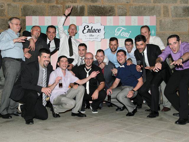 La boda de Toni y Eva en Leiro (Capital), Orense 76