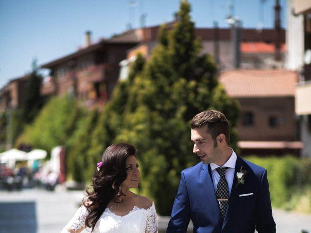 La boda de Alejandro  y Sarai  en Boadilla Del Monte, Madrid 6