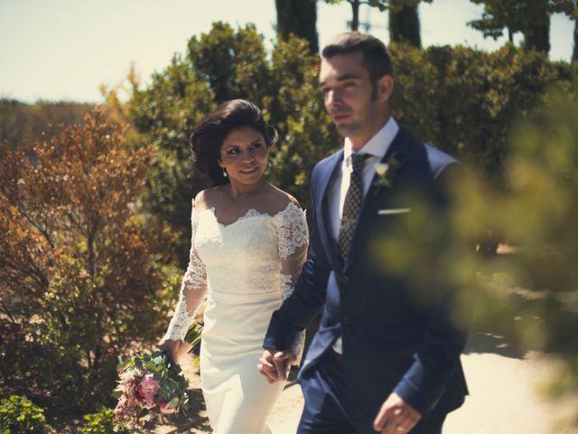 La boda de Alejandro  y Sarai  en Boadilla Del Monte, Madrid 1