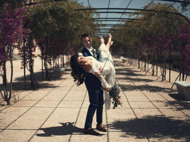 La boda de Alejandro  y Sarai  en Boadilla Del Monte, Madrid 8