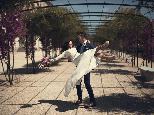 La boda de Alejandro  y Sarai  en Boadilla Del Monte, Madrid 9