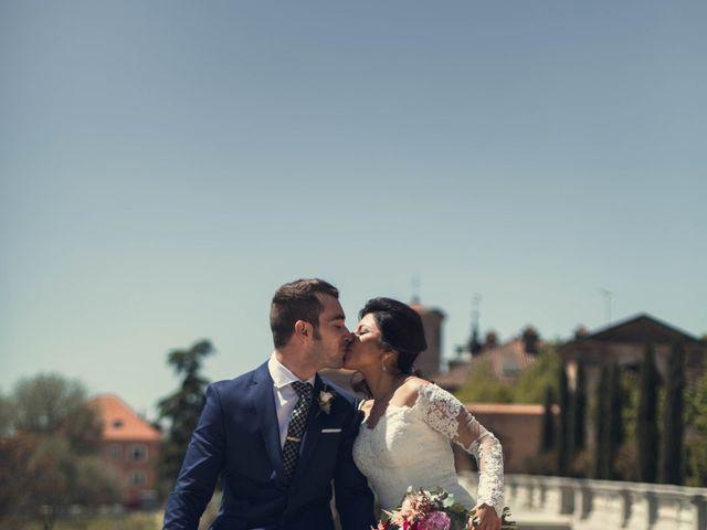 La boda de Alejandro  y Sarai  en Boadilla Del Monte, Madrid 2