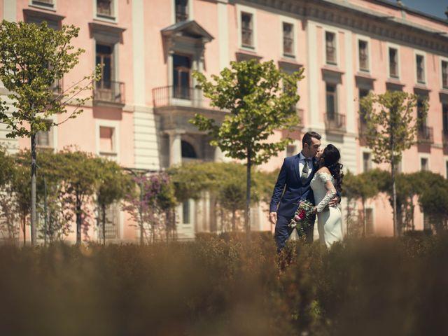 La boda de Alejandro  y Sarai  en Boadilla Del Monte, Madrid 12