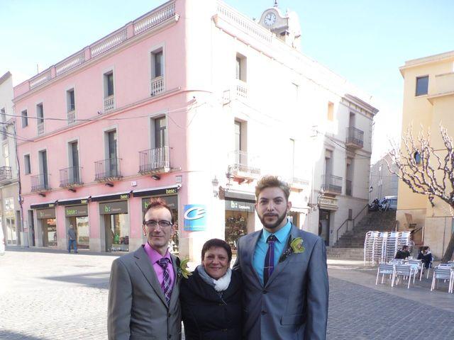 La boda de Andrés  y Agustín en Mollet Del Valles, Barcelona 131