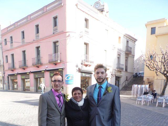 La boda de Andrés  y Agustín en Mollet Del Valles, Barcelona 132