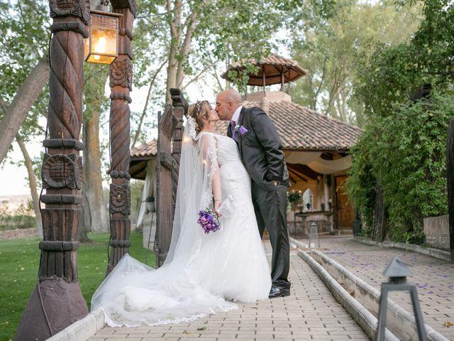 La boda de Alberto y Rosalina en Alalpardo, Madrid 1