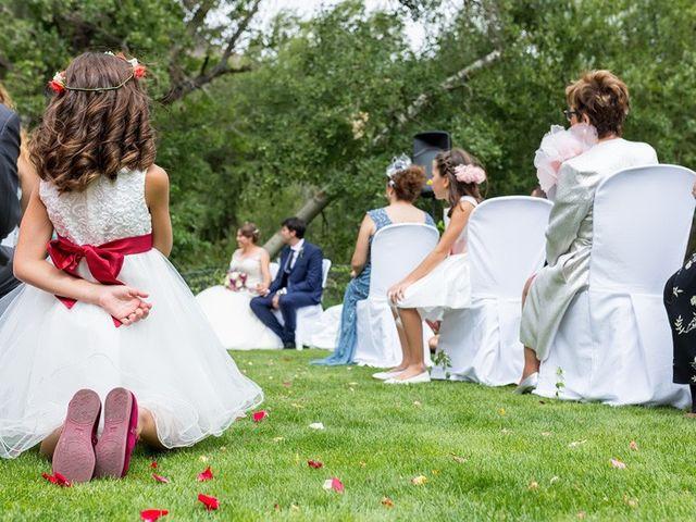 La boda de Ricardo y Yolanda en Navacepedilla De Corneja, Ávila 10