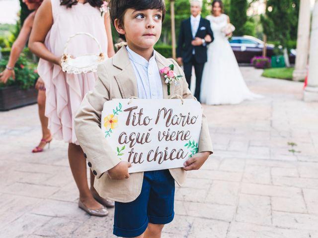 La boda de Mario y Sandra en San Agustin De Guadalix, Madrid 17