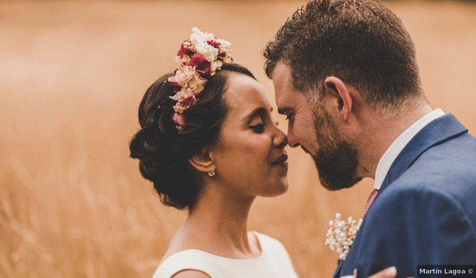 La boda de Óscar y Amina en Chantada (Casco Urbano), Lugo
