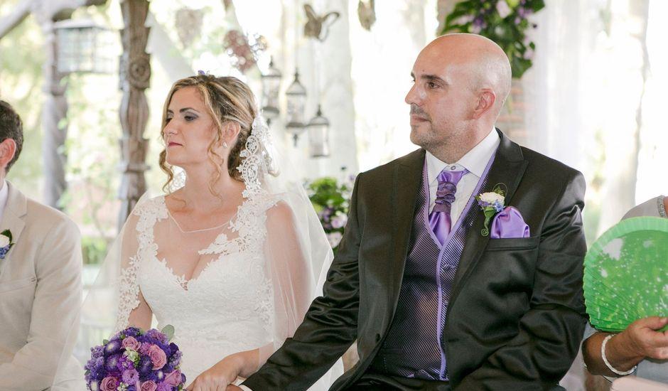 La boda de Alberto y Rosalina en Alalpardo, Madrid