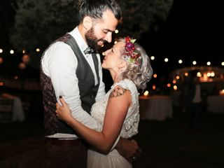 La boda de Ela y David