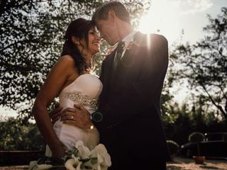 La boda de Ada y Alfred