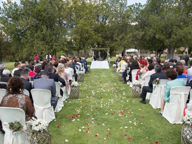 La boda de Diego y Laura en Pozal De Gallinas, Valladolid 9