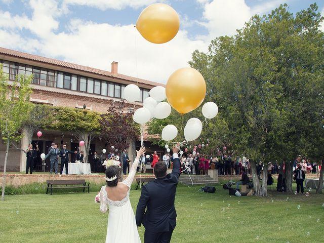 La boda de Diego y Laura en Pozal De Gallinas, Valladolid 21