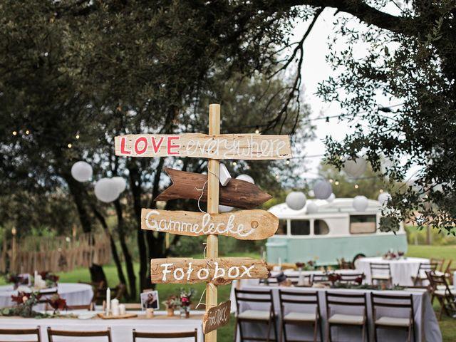 La boda de David y Ela en Llabia, Girona 48