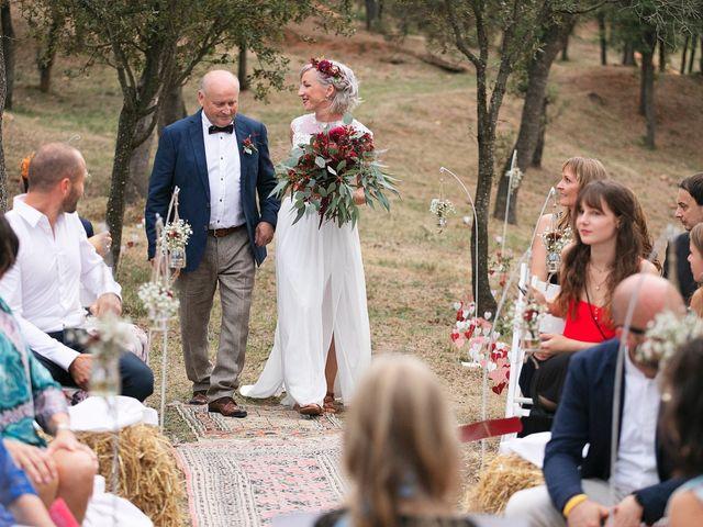 La boda de David y Ela en Llabia, Girona 69