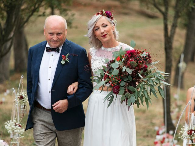 La boda de David y Ela en Llabia, Girona 70