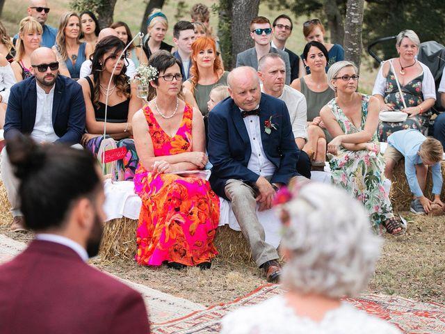 La boda de David y Ela en Llabia, Girona 73