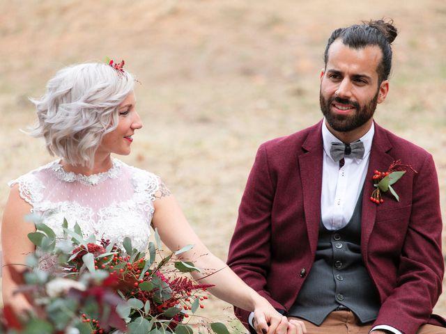 La boda de David y Ela en Llabia, Girona 78