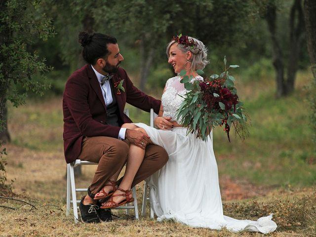 La boda de David y Ela en Llabia, Girona 88