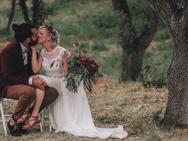 La boda de David y Ela en Llabia, Girona 89