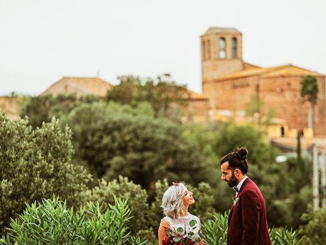 La boda de David y Ela en Llabia, Girona 93