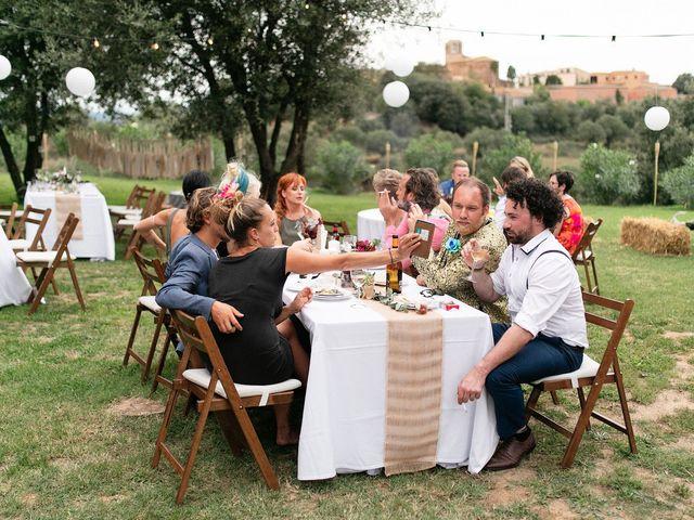 La boda de David y Ela en Llabia, Girona 100