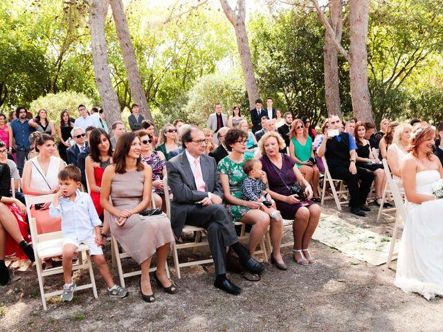 La boda de Ángel y Laura en Agullent, Valencia 17