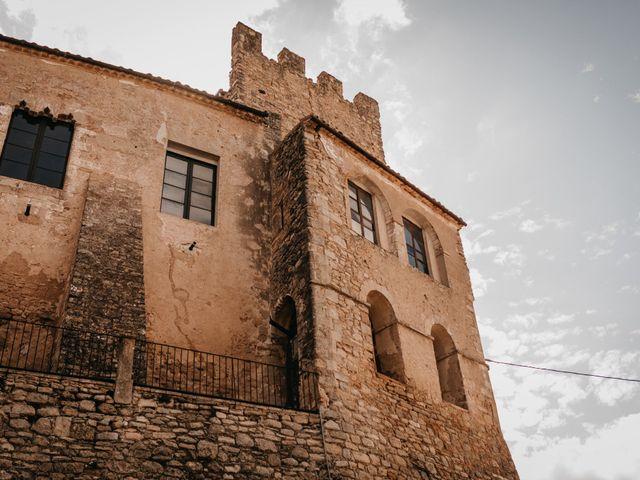 La boda de Adolfo y Elena en Sant Marti De Tous, Barcelona 1