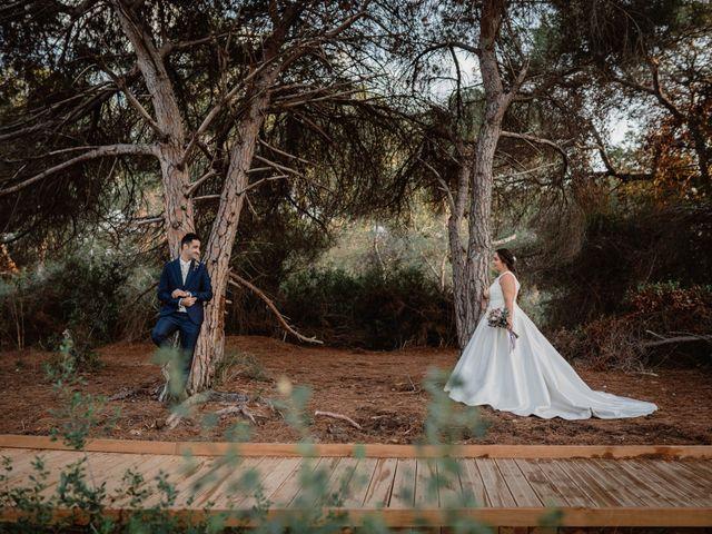 La boda de Lázaro y Blanca en Naquera, Valencia 45