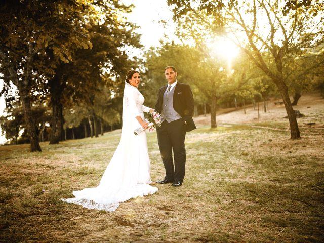La boda de Elisa y Jorge en Alajar, Huelva 1