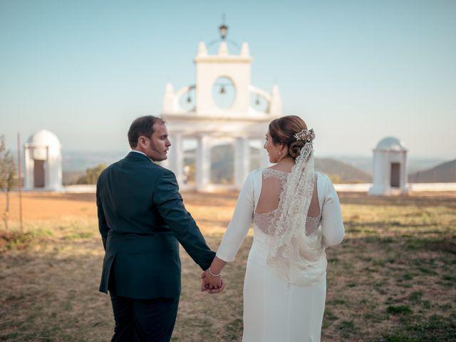 La boda de Elisa y Jorge en Alajar, Huelva 13