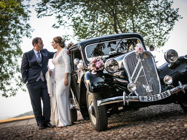 La boda de Elisa y Jorge en Alajar, Huelva 16