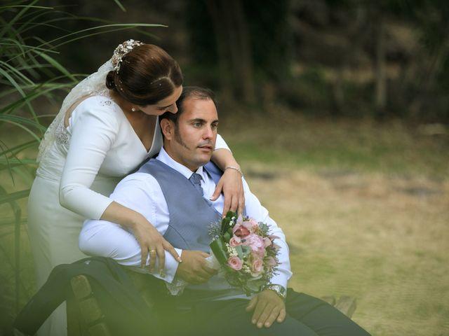 La boda de Elisa y Jorge en Alajar, Huelva 19