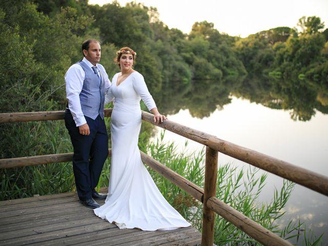 La boda de Elisa y Jorge en Alajar, Huelva 35