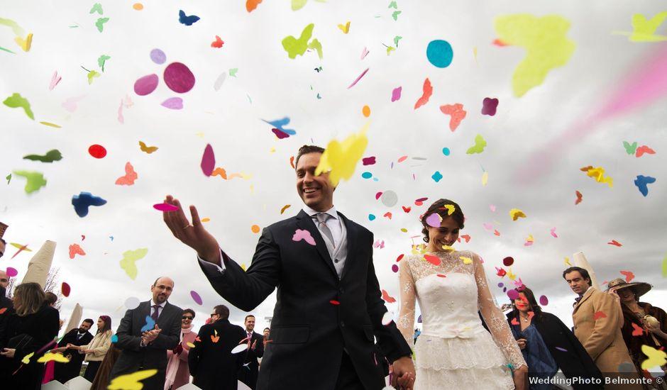 La boda de Diego y Leire en Algete, Madrid