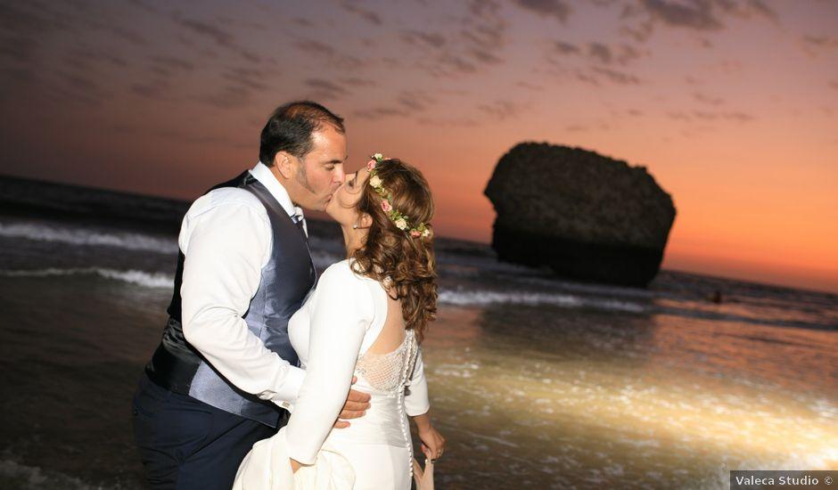 La boda de Elisa y Jorge en Alajar, Huelva