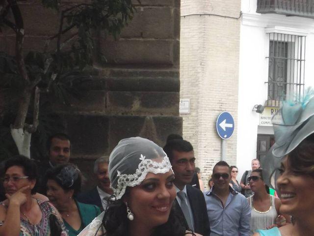 La boda de Lidia y Santi en Sanlucar De Barrameda, Cádiz 12