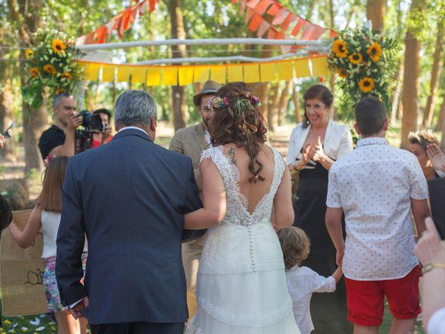 La boda de Chencho y Elena en Saelices, Cuenca 30