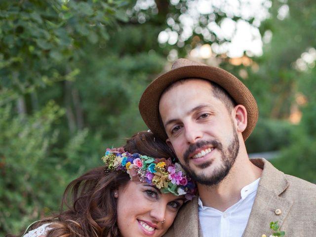 La boda de Chencho y Elena en Saelices, Cuenca 40