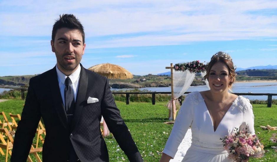 La boda de Esteban y Andrea  en Suances, Cantabria