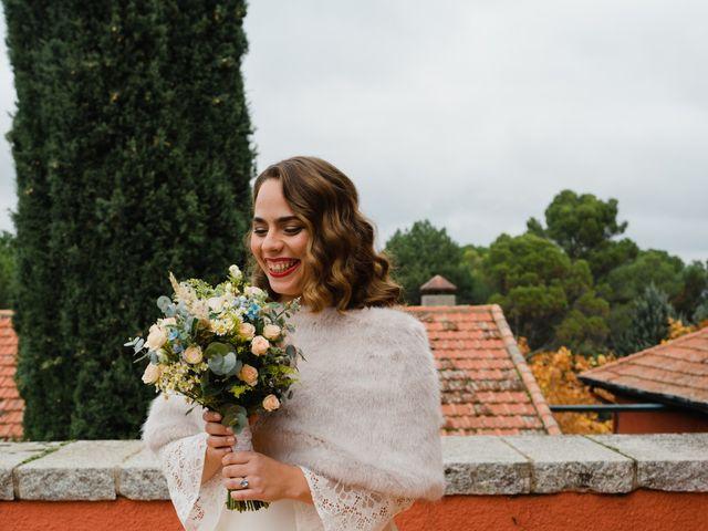 La boda de Quique y Sara en Collado Villalba, Madrid 45