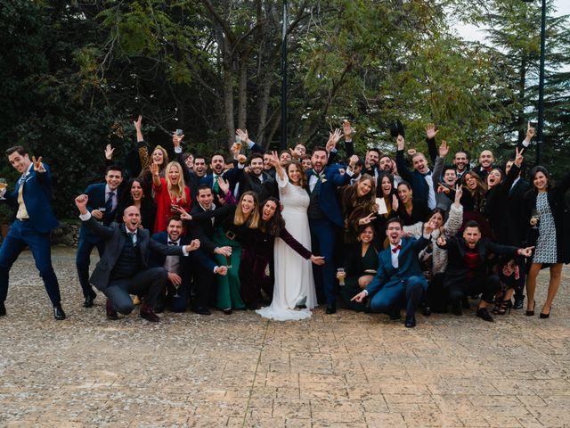 La boda de Quique y Sara en Collado Villalba, Madrid 77