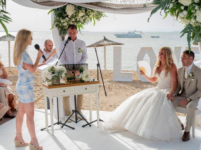La boda de Phil y Kelly en La Manga Del Mar Menor, Murcia 53
