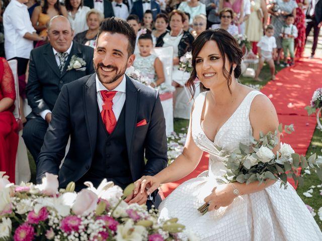 La boda de Dani y Patri  en Tebra (Santa Maria), Pontevedra 2