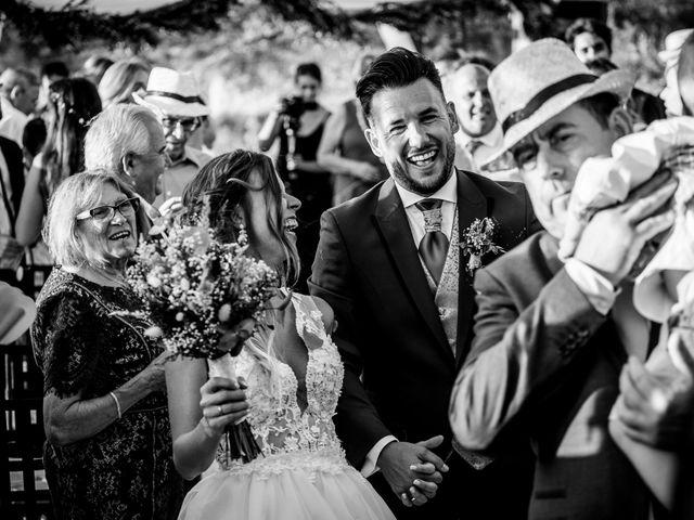 La boda de Javi y Ana en Tarancon, Cuenca 40