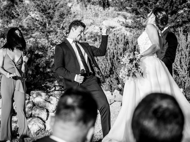 La boda de Javi y Ana en Tarancon, Cuenca 41